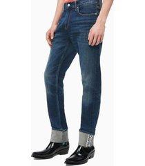 jeans slim cortence azul calvin klein