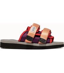 suicoke scarpe pink gray