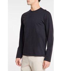 camiseta masculina mg longa preta - pp