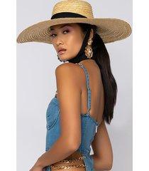 akira california gurls straw hat