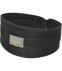cinturón de pesas everlast 6''-negro