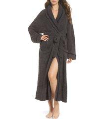 women's barefoot dreams x disney classic series cozychic robe, size 2 - grey