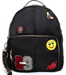 mochila negra tropea montecelio