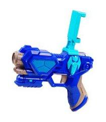 controle jogo de vídeo game para dispositivo móvel - unik toys azul