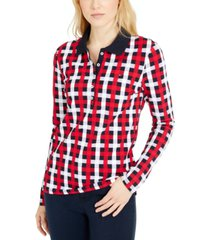 tommy hilfiger bostonian plaid polo shirt