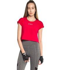 camiseta crop roja saeta bolero