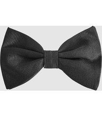 reiss callan - silk bow tie in black, mens