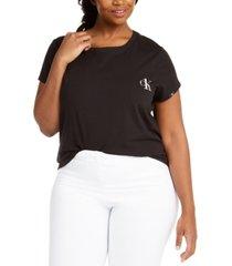 calvin klein ckone plus size pajama t-shirt