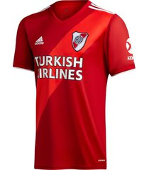 camiseta roja adidas river alternativa 2020/2021
