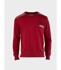 suéter cuello redondo para hombre 13485