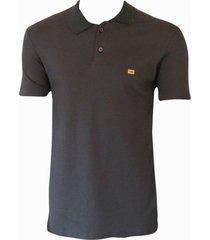 camiseta polo especial sueding hb masculina