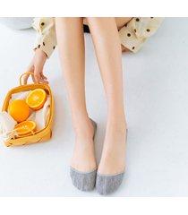 womens summer thin invisible boat calze traspirante deep antiskid casual confortevole piatto calze