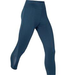leggings a pinocchietto modellanti livello 1 (blu) - bpc bonprix collection