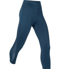 leggings a pinocchietto modellanti livello 1 (blu) - bpc bonprix collection