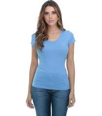 blusa cotton javali azul