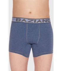 boxer algodón lycra azul baziani