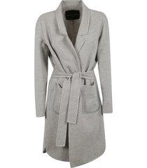 fabiana filippi belted classic cardi-coat