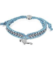 sho london designer bracelets, manatee friendship silk bracelet