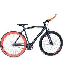bicicleta urbana monoplato ruedas gw 700 - negra