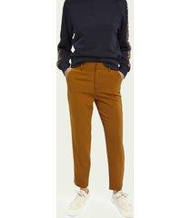 scotch & soda lowry – slim fit pantalon met stretch