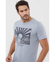 camiseta jack & jones ashley azul