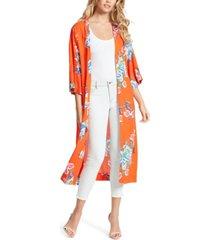 jessica simpson gwendelin printed kimono