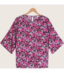 blusa manga 3/4 estampada-22