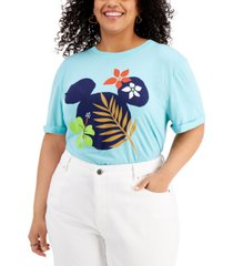 mighty fine plus trendy minnie mouse graphic t-shirt