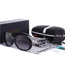 gafas lentes sol mujer barcur ovaladas polarizadas uv400 8115 negro