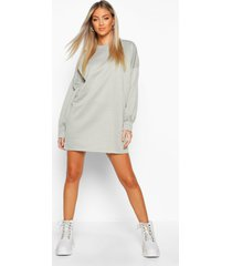 the perfect oversized sweat dress, sage