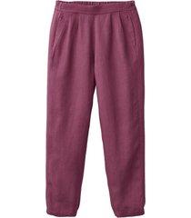 comfortabele linnen broek, bes 40