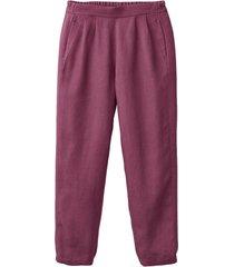 comfortabele linnen broek, bes 38