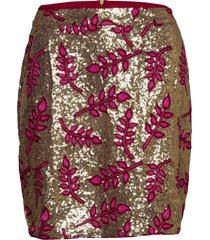 aqua skirt kort kjol rosa lollys laundry