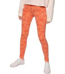 leggings naranja adidas originals