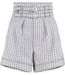 philosophy di lorenzo serafini high waist shorts
