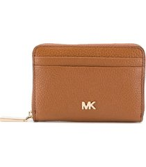 michael kors mott light brown card holder