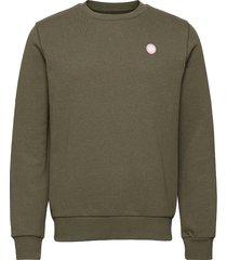 lars recycled cotton sweat sweat-shirt tröja grön kronstadt