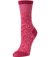 dainty mix fashion crew socks