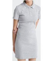 superdry women's polo mini dress