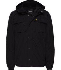 pocket jacket dun jack zwart lyle & scott