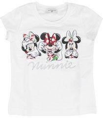 monnalisa cotton stretch t-shirt