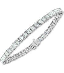 diamond princess tennis bracelet (7 ct. t.w.) in 14k white gold