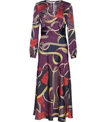 treasure trove midi-dress maxiklänning festklänning multi/mönstrad marciano by guess