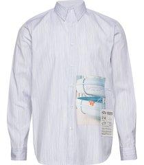 habitt toyenbadet shirt skjorta casual blå holzweiler