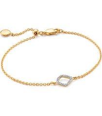 gold riva mini kite bracelet diamond