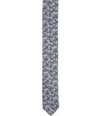 krawat platinum niebieski classic 244