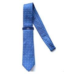 corbata azul oscar de la renta 20aa2070-165