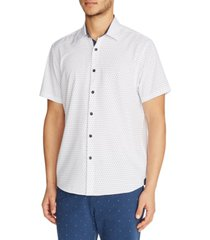 tallia men's dot shirt