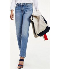 jeans rome straight azul tommy hilfiger