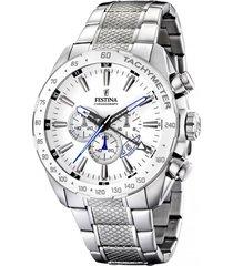 reloj blanco festina hombre timeless